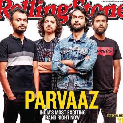 Parvaaz on Rolling Stone cover