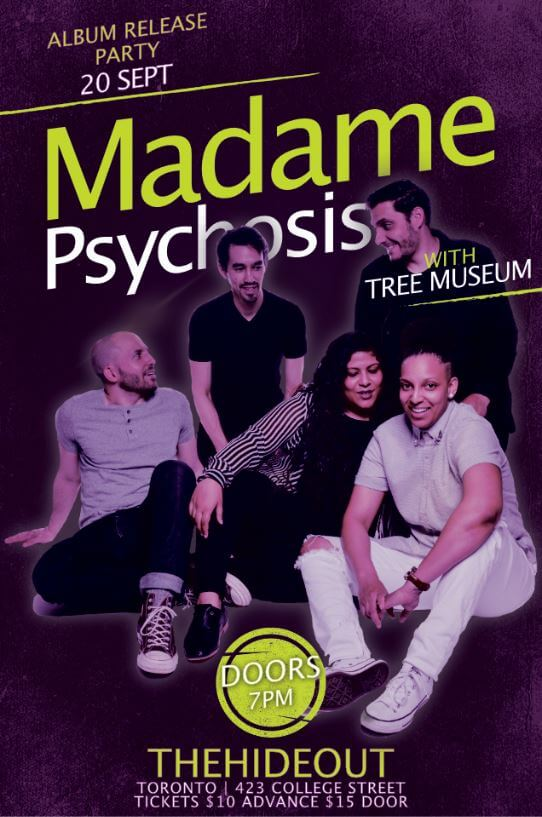 Madame Psychosis album release official poster
